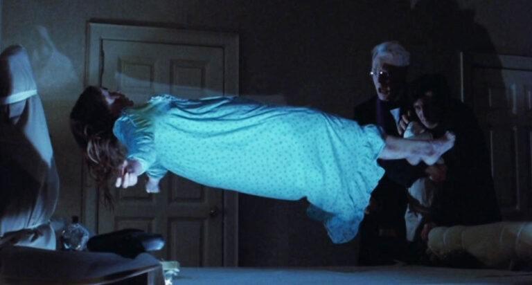Scena z filmu Egzorcysta