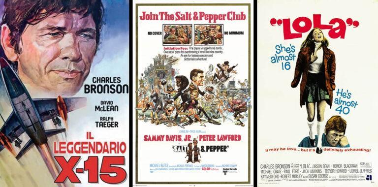 Postery filmów Richarda Donnera: X-15, Sól i pieprz, Lola