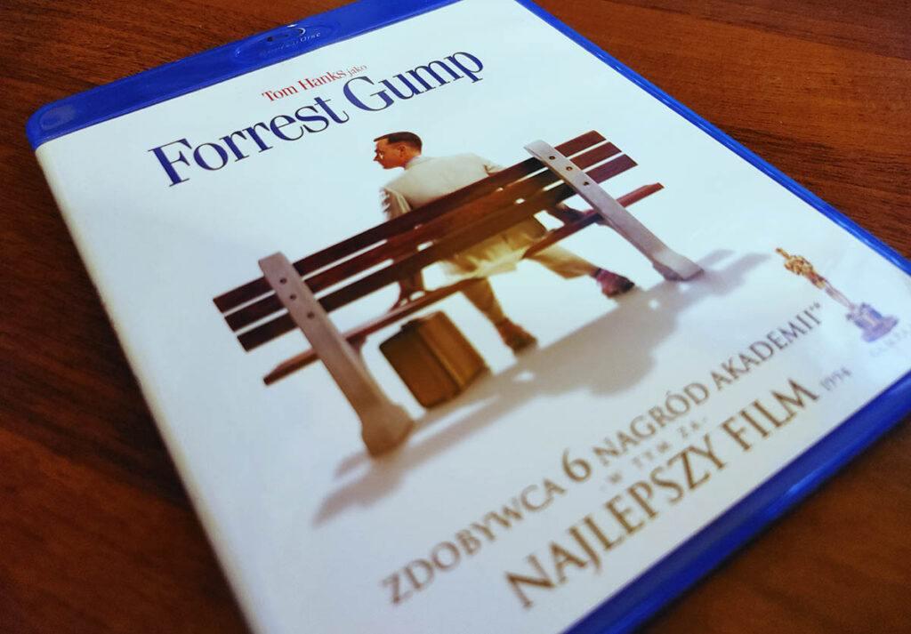 Forrest Gump płyta Bluray PL