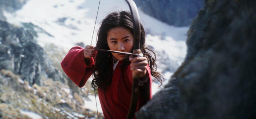 Aktorka w filmie Mulan z 2020