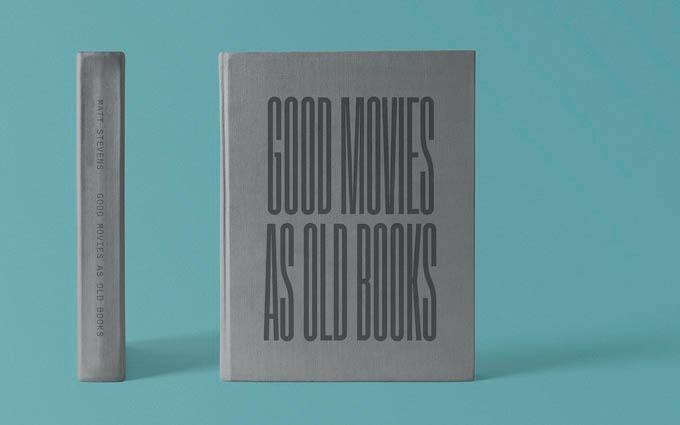 książka projektu Good Movies as Old Books