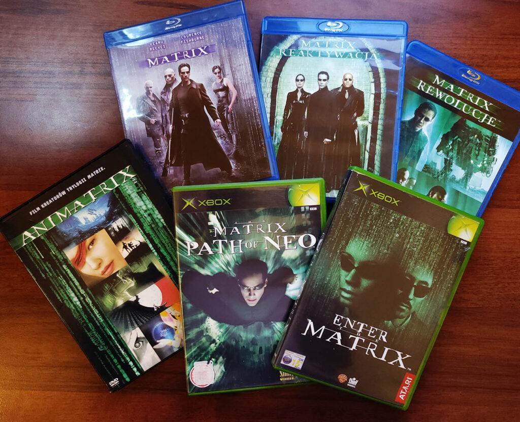 Gry i filmu z serii Matrix