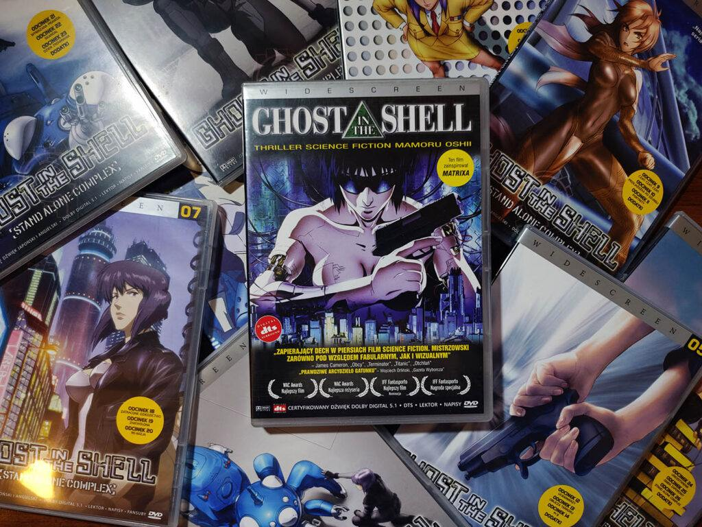 Ghost in the Shell film i serial DVD PL