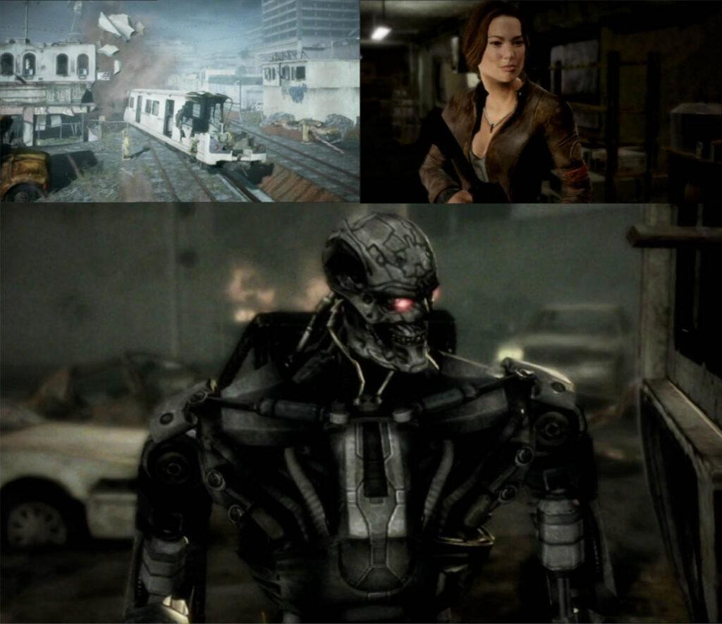 Kadry z serii: Terminator. Ocalenie. Seria Machinima