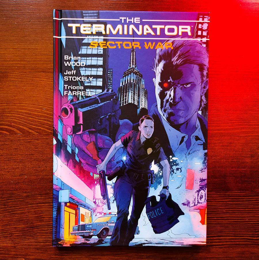 Komiks Terminator: Sector War