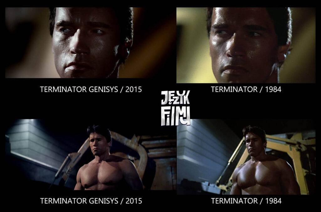 Porównanie Arnold żywy i Arnold CGI