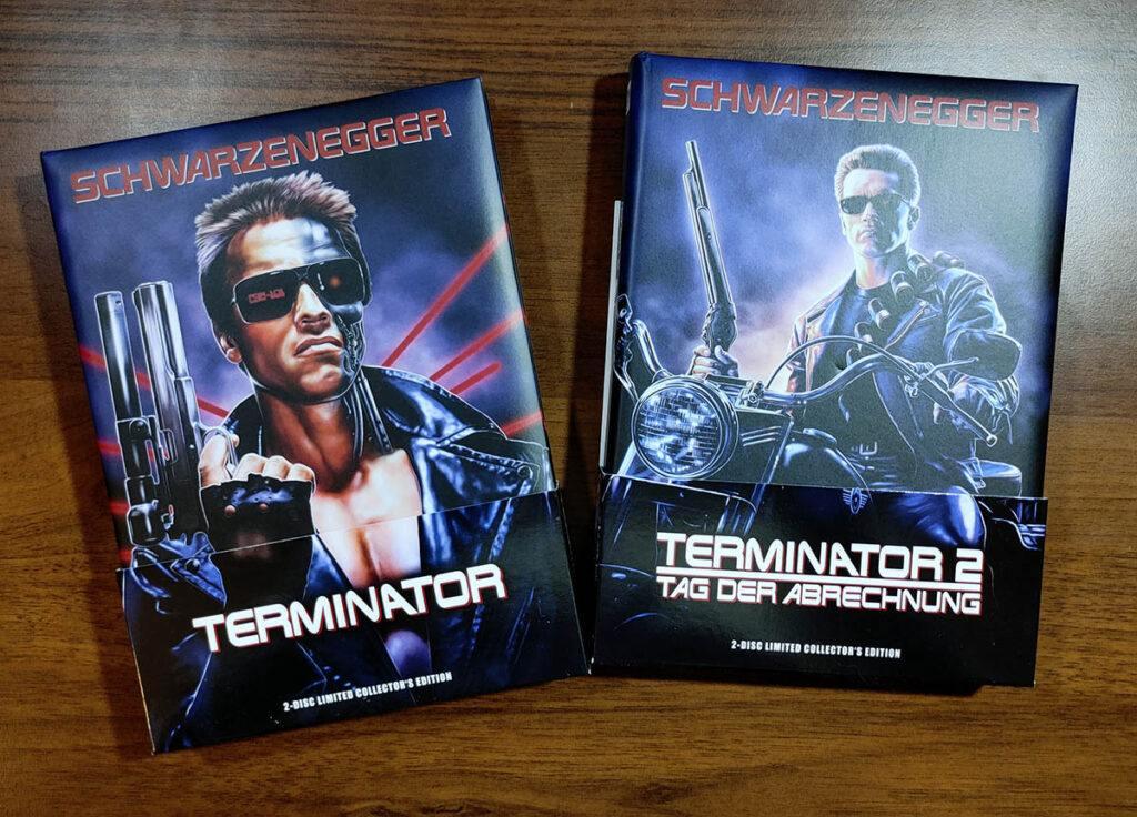Płyty mediabook Blu-ray Terminator 1 i 2
