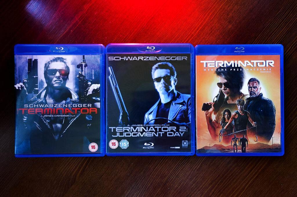 Terminator 1, 2 i Dark Fate Blu-ray