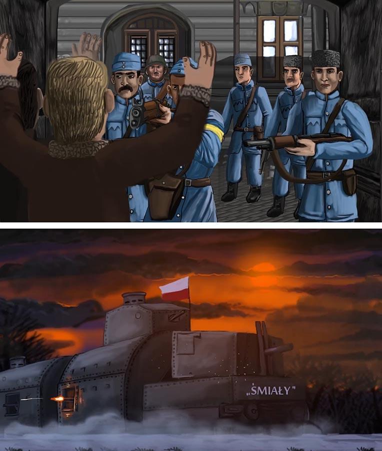 Kadry z filmu Semper Fidelis