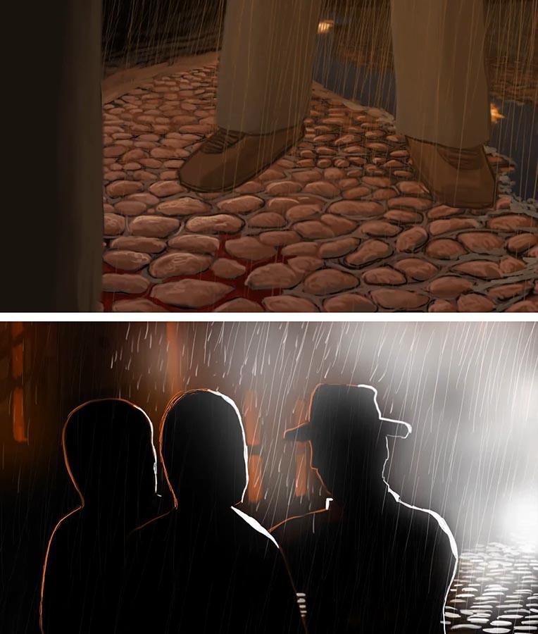 Kadry z filmu animowanego Semper Fidelis