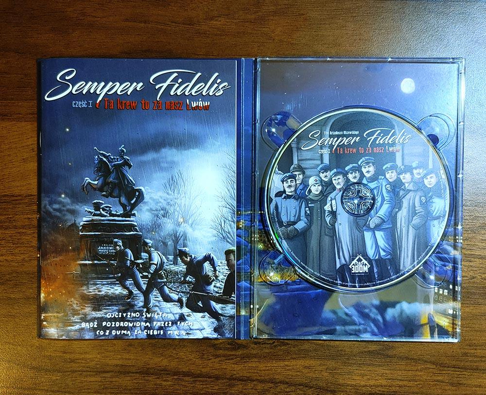Płyta DVD z filmem Semper Fidelis
