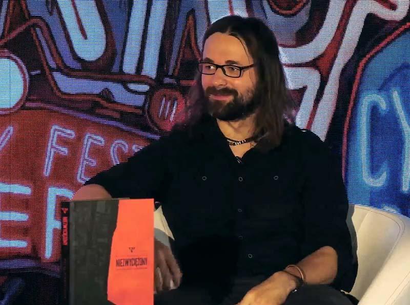 Rafał Mikołajczyk na Festiwalu Komiksu