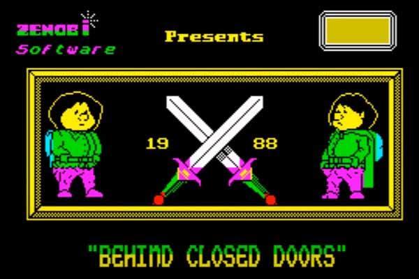 Kadr z gry Behind Closed Doors (1988)