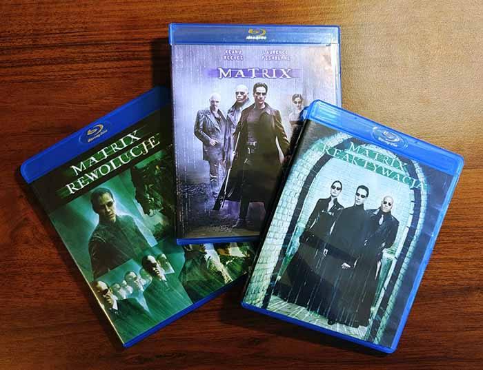 Filmy Matrix Blu-ray PL