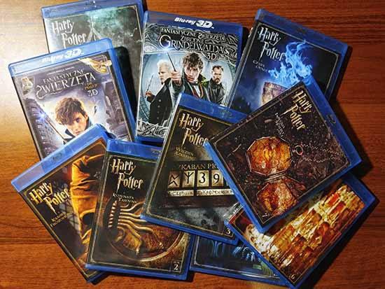 Seria Blu-ray Harry Potter i Fantastyczne Zwierzęta