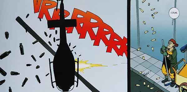 Kadr z komiksu Maciek Rewelacja