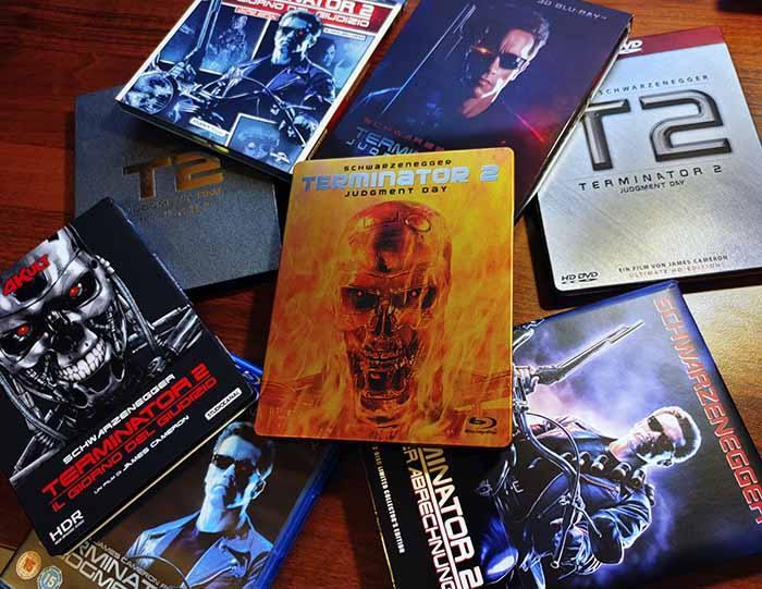 Różne wydania Terminatora 2 Blu-ray