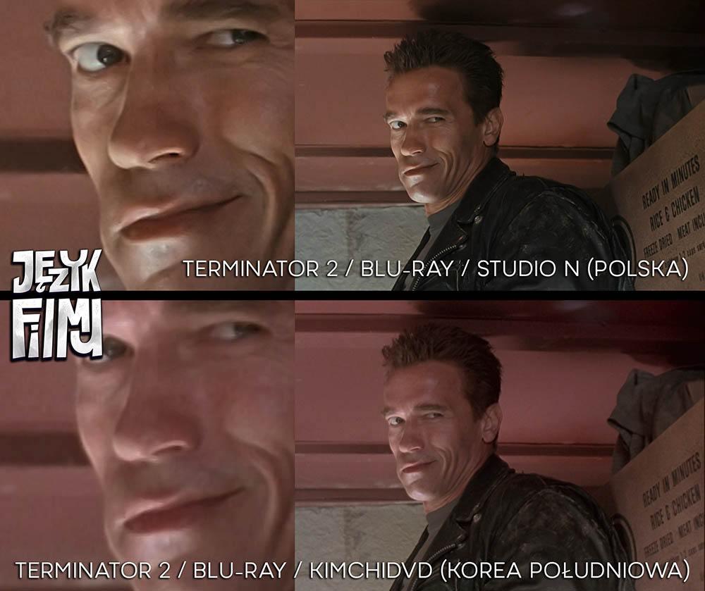 PorównaniePorównanie jakości Terminator 2 Bluray