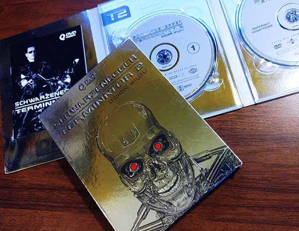 Płyta DVD Terminator 2 Vision